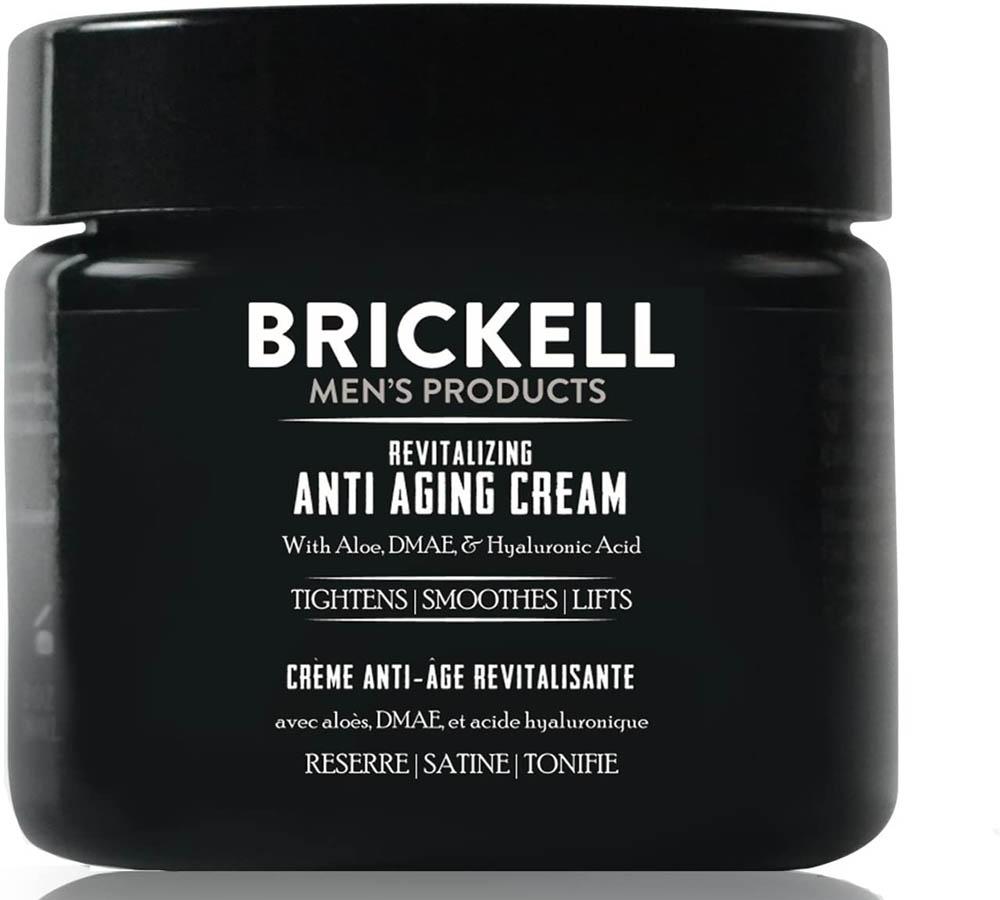 Crema antiarrugas para hombre Brickell Men's Products