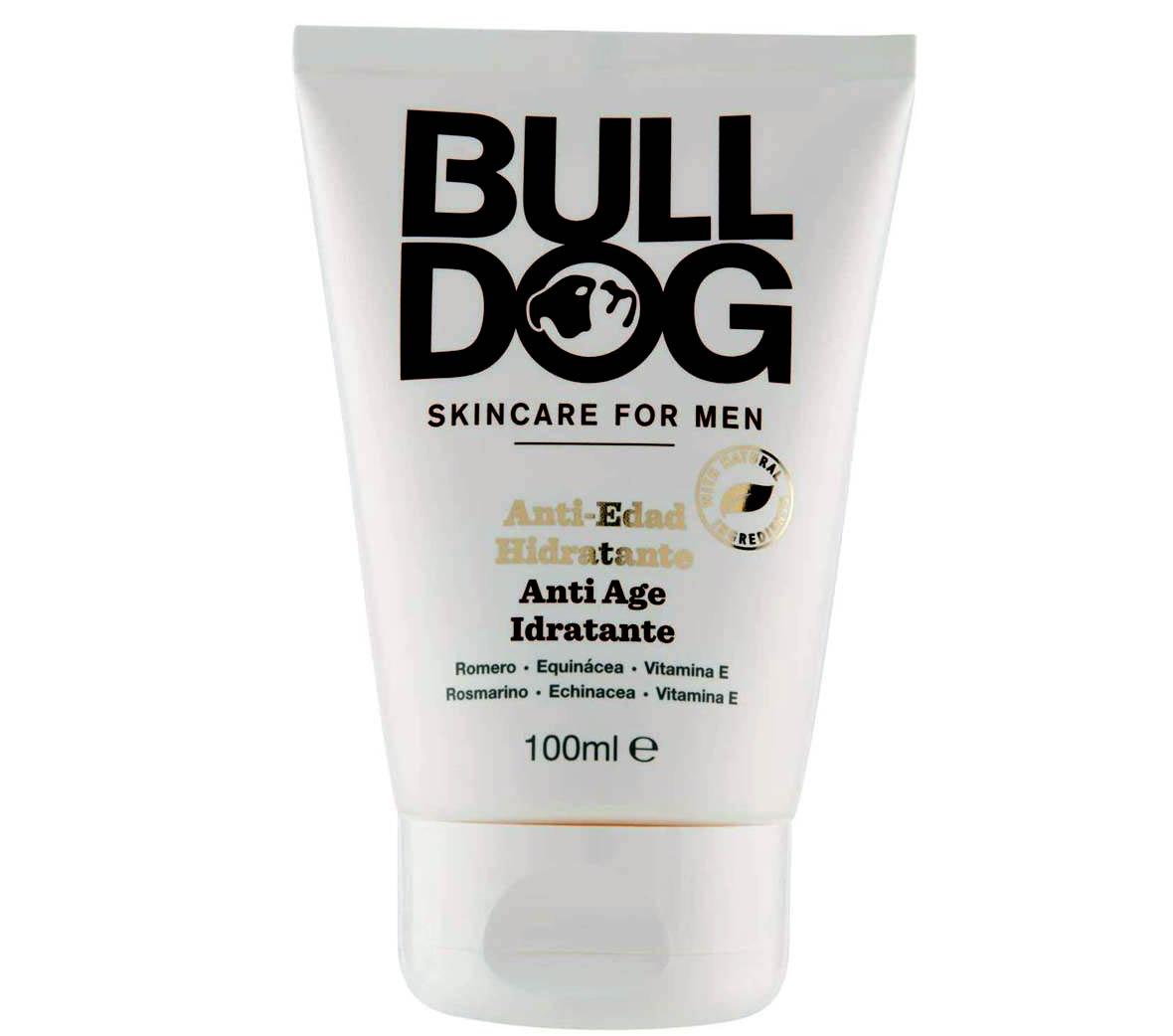 Crema antiarrugas para hombre Bulldog