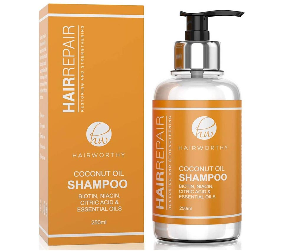 Champu anticaída para hombre Hairworthy Hairrepair