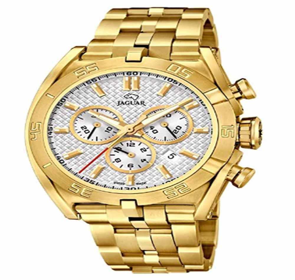 Reloj de oro de hombre JAGUAR J853/1