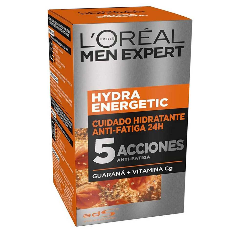 Crema facial para hombre L'Oréal Men Expert Hydra Energetic
