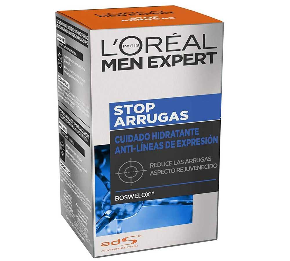 Crema antiarrugas para hombre L'Oreal Men Expert Stop Arrugas