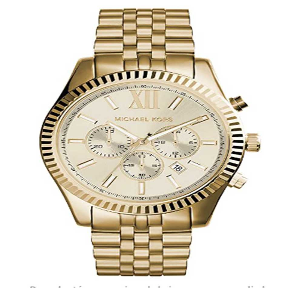 Reloj de oro de hombre Michael Kors MK8281