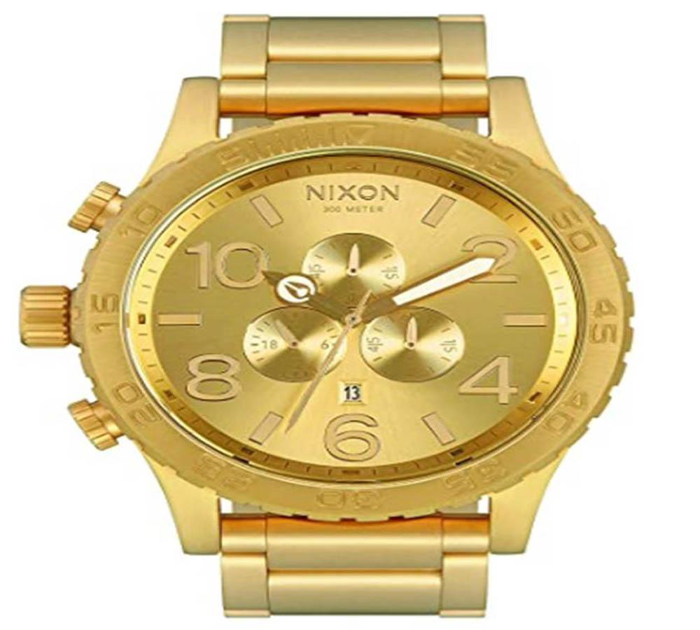 Reloj de oro de hombre NIXON 51-30 Chrono