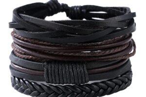 Las 10 mejores pulseras de cuero para hombres