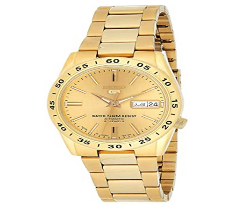Reloj de oro de hombre Seiko SNKE06K1