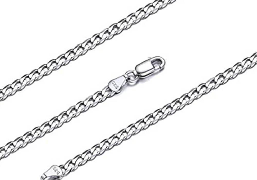 Cadena de plata de hombre Silvora VP19164B