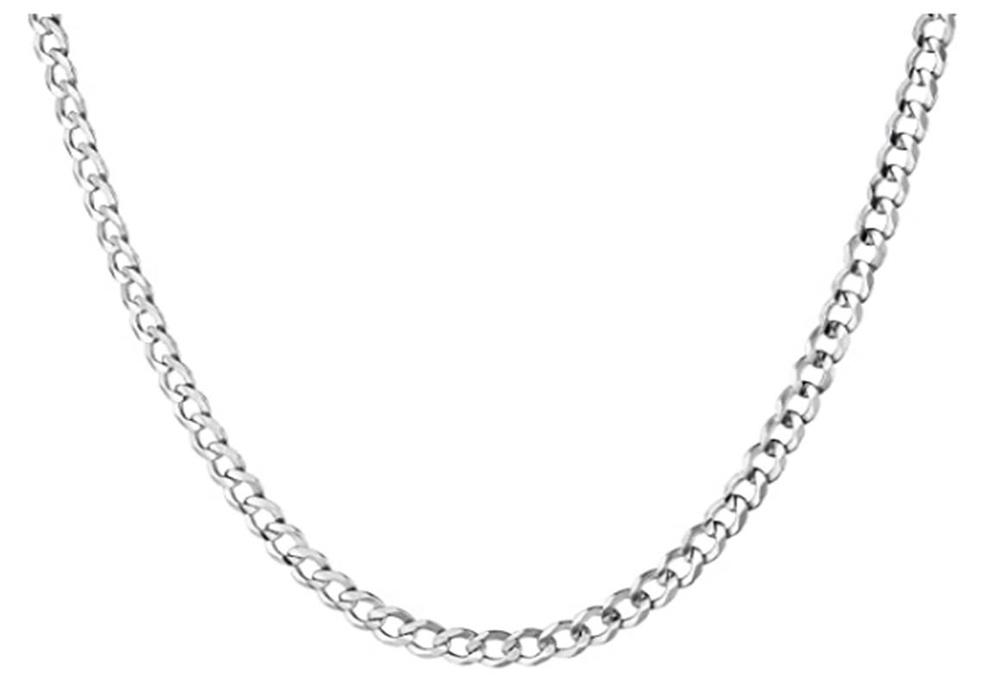 Cadena de plata de hombre Sterll S160146